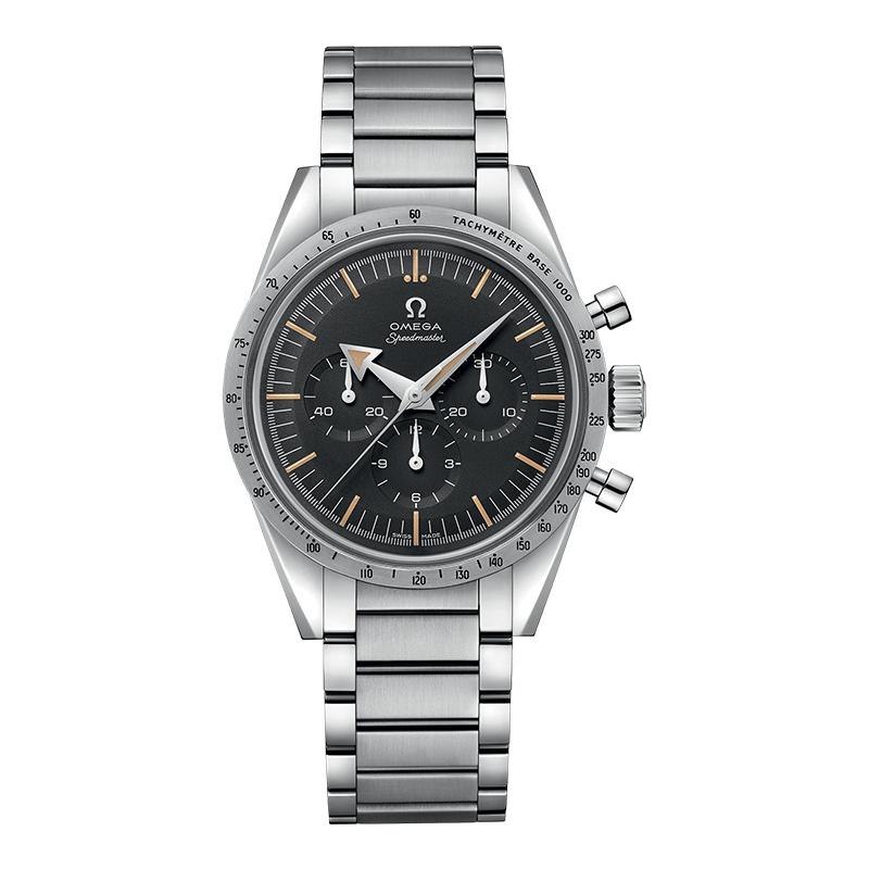 gioielli-e-orologiUomoOrologio Uomo Omega Speedmaster 57 quadrante nero tropicale