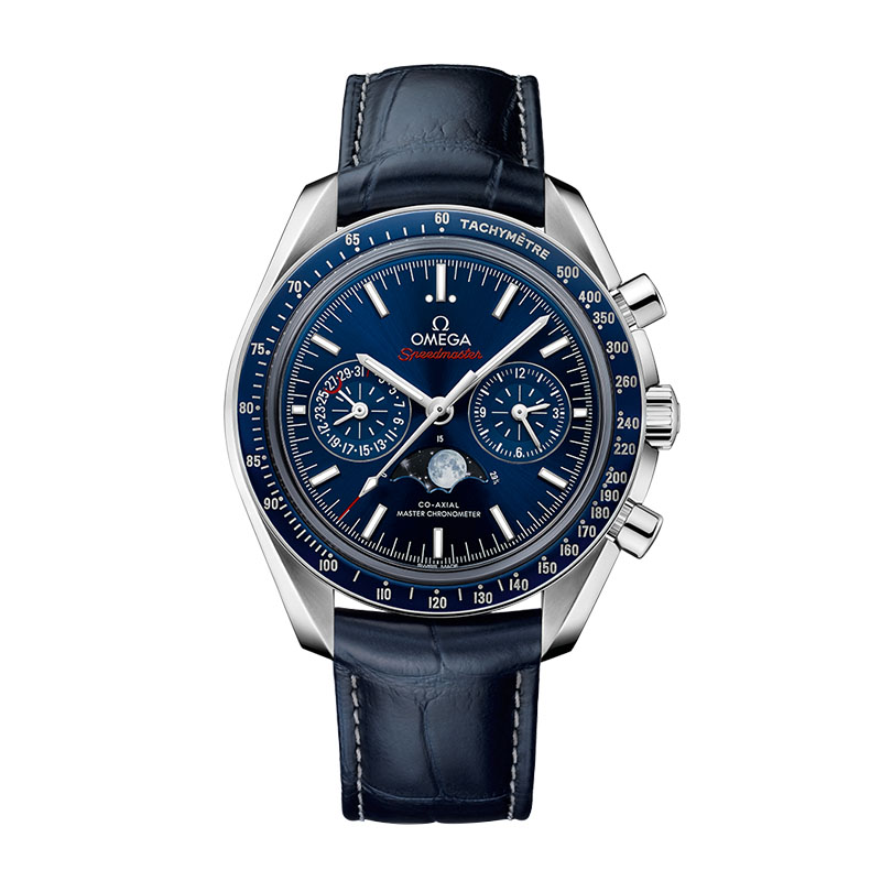 orologi Uomo Omega Speedmaster Moonwatch Co-Axial master Chronometer Moonphase Chronograph Calibre 9904/9905