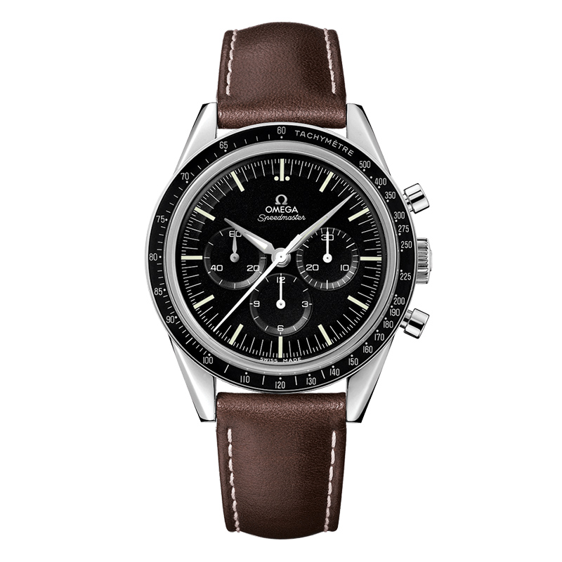 orologi Uomo Omega Speedmaster Moonwatch Professional Chronograph The First in Space 39,7mm