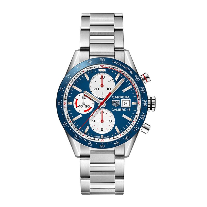 gioielli-e-orologiUomoOrologio Uomo Tag Heuer Carrera opalino blu