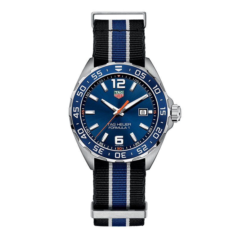 gioielli-e-orologiUomoOrologio Uomo Tag Heuer Formula 1 quadrante blu sunray