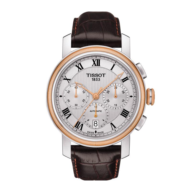 orologiUomoOrologio Uomo Tissot Bridgeport automatic chronograph Valjoux