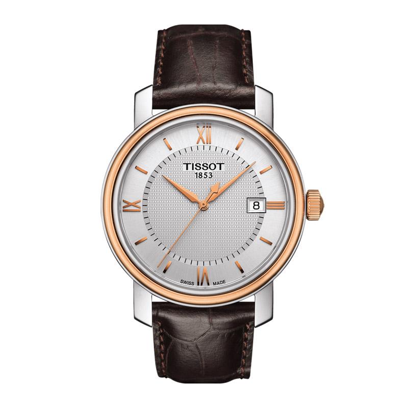 gioielli-e-orologiUomoOrologio Uomo Tissot Bridgeport oro rosa PVD
