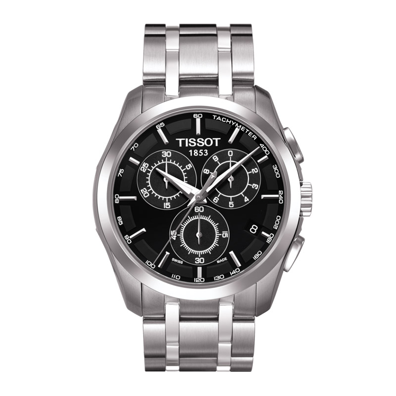 orologiUomoOrologio Uomo Tissot Couturier chronograph acciaio