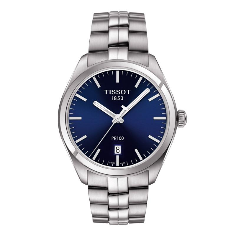 orologiUomoOrologio Uomo Tissot PR 100 blu