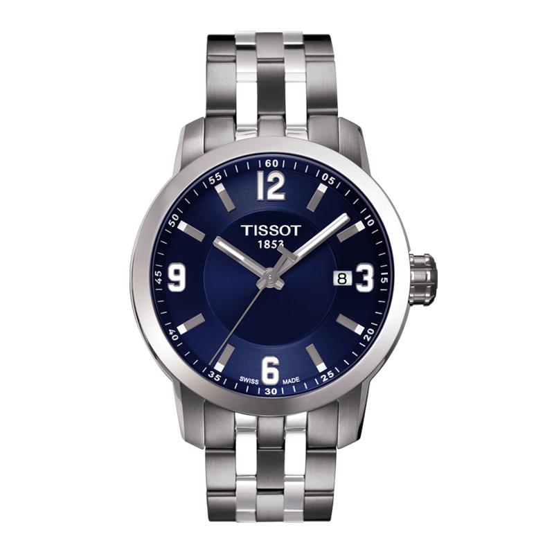 orologiUomoOrologio Uomo Tissot PRC 200 quadrante blu