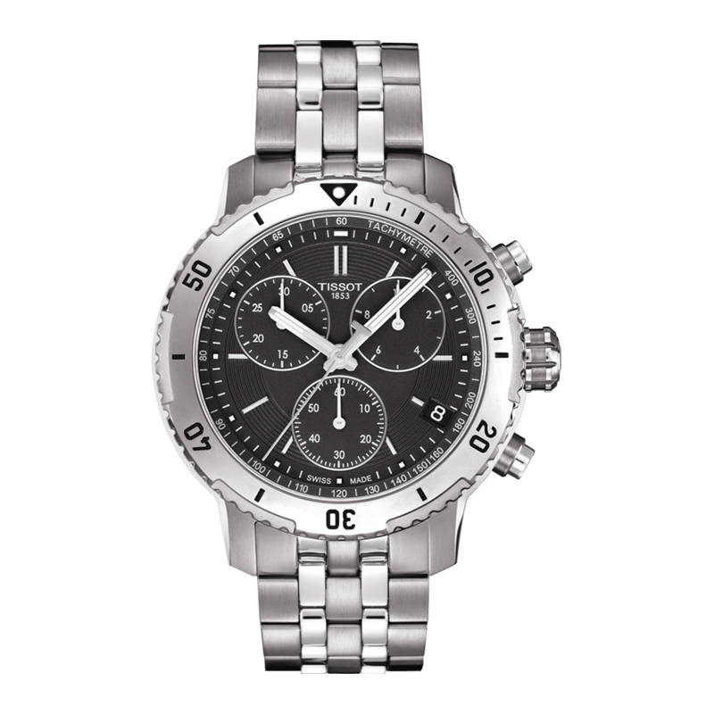 gioielli-e-orologiUomoOrologio Uomo Tissot PRS 200 quadrante nero
