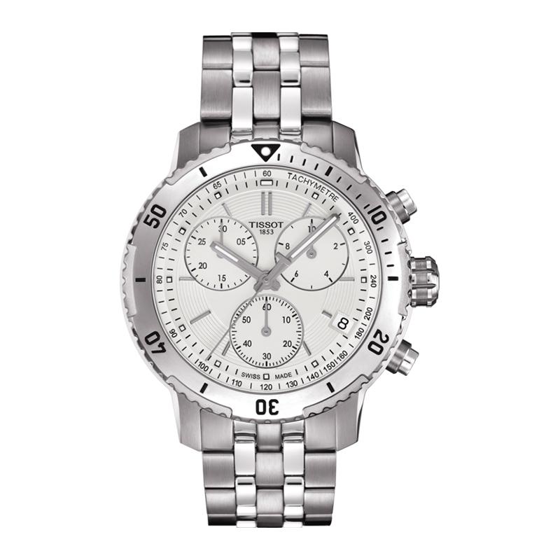orologiUomoOrologio Uomo Tissot PRS 200 silver