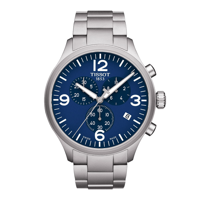 orologiUomoOrologio Uomo Tissot T-Sport chrono XL herrenuhr blu