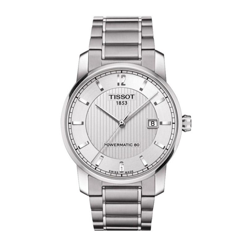 orologiUomoOrologio Uomo Tissot Titanium silver