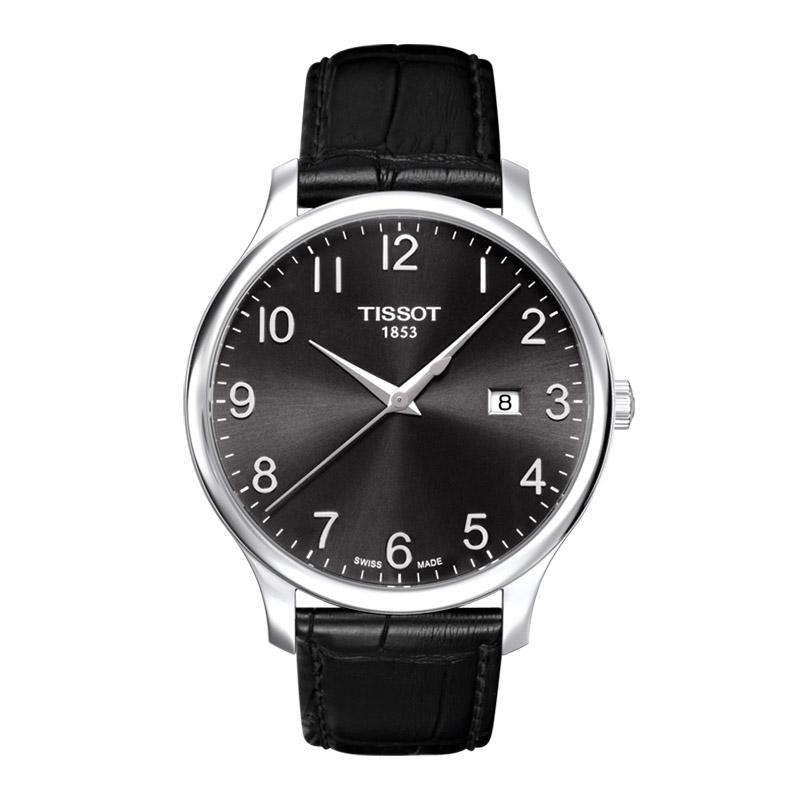 gioielli-e-orologiUomoOrologio Uomo Tissot Tradition acciaio quadrante nero