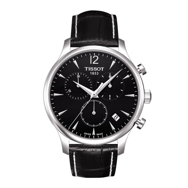 orologiUomoOrologio Uomo Tissot Tradition chronograph nero