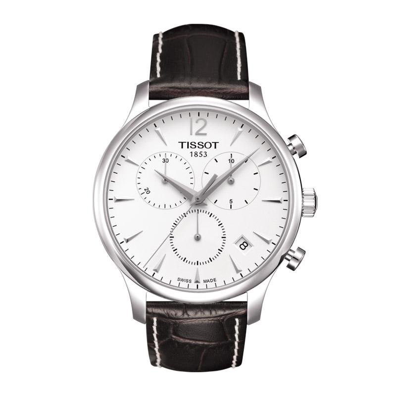 orologiUomoOrologio Uomo Tissot Tradition chronograph silver