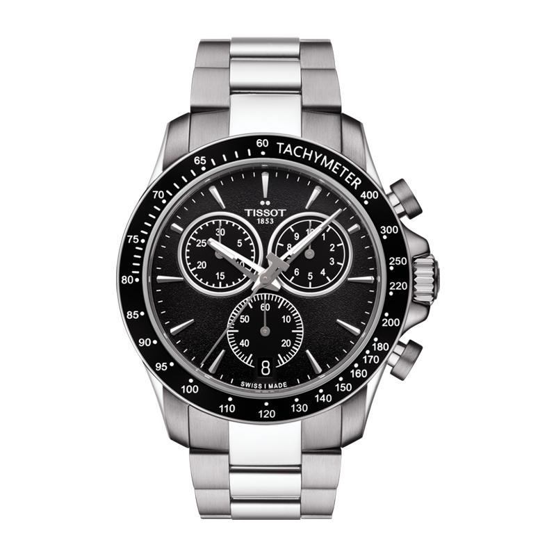 gioielli-e-orologiUomoOrologio Uomo Tissot V8 Quartz Chronograph quadrante nero