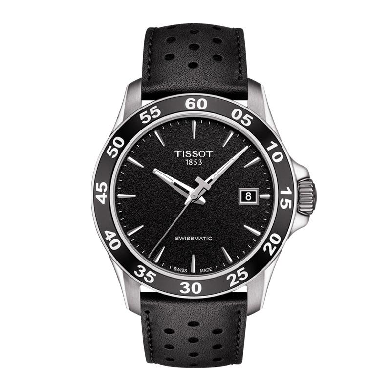 orologiUomoOrologio Uomo Tissot V8 Swissmatic nero