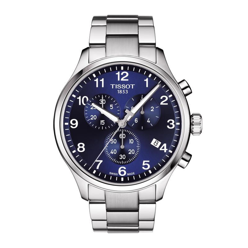 orologiUomoOrologio Uomo Tissot XL Classic chrono acciaio
