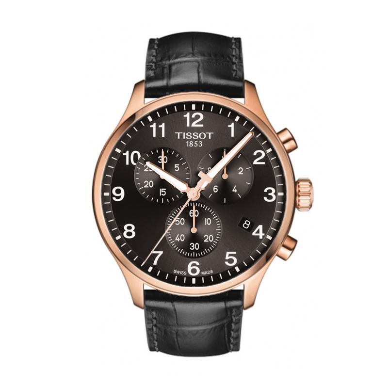 gioielli-e-orologiUomoOrologio Uomo Tissot XL Classic chrono PVD quadrante nero