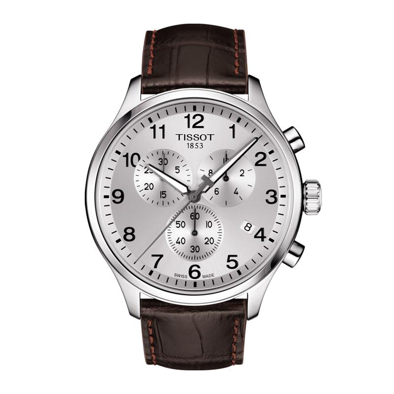 orologiUomoOrologio Uomo Tissot XL Classic chrono quadrante argento