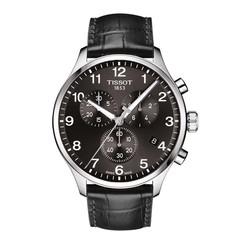 orologiUomoOrologio Uomo Tissot XL Classic chrono quadrante nero