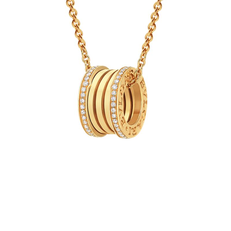 gioielliDonnaPendente Donna Bulgari B.zero1 oro giallo diamante