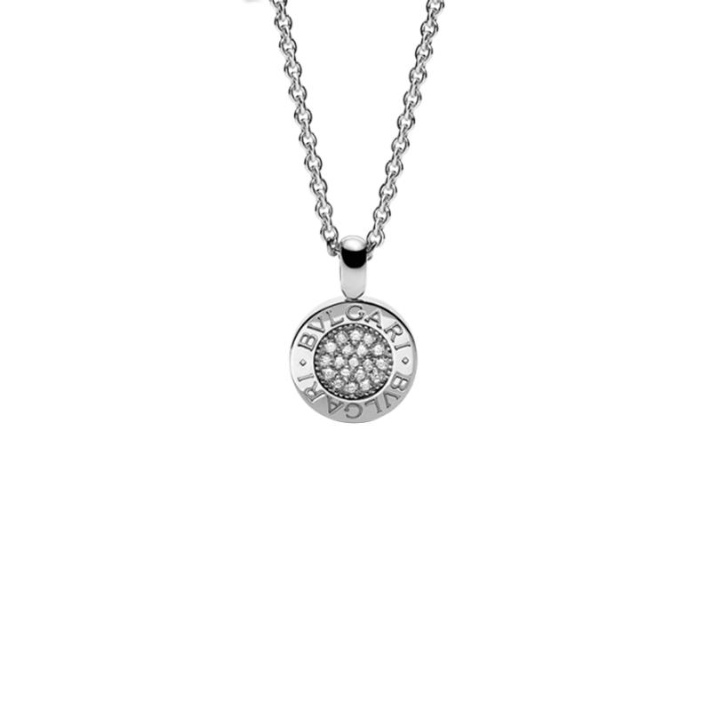 gioielliDonnaPendente Donna Bulgari-Bulgari oro bianco diamanti