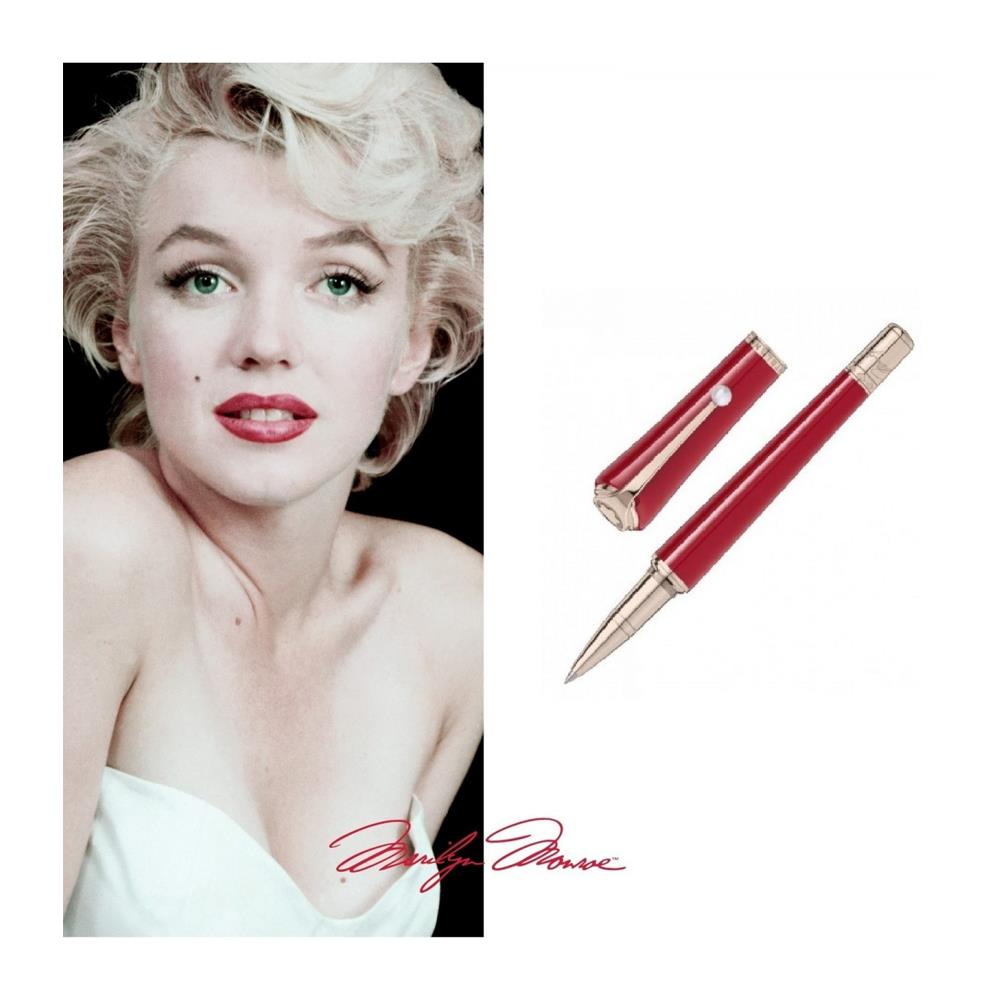 Penna Montblanc Roller Muses Marilyn Monroe Edizione Speciale
