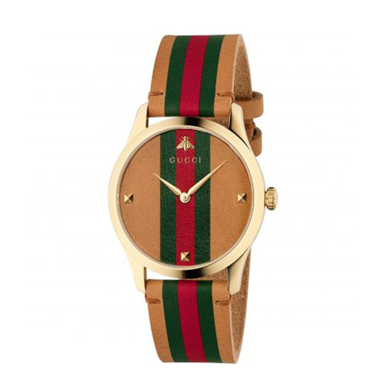 orologi Donna OROLOGIO GUCCI G-TIMELESS 38mm MARRONE