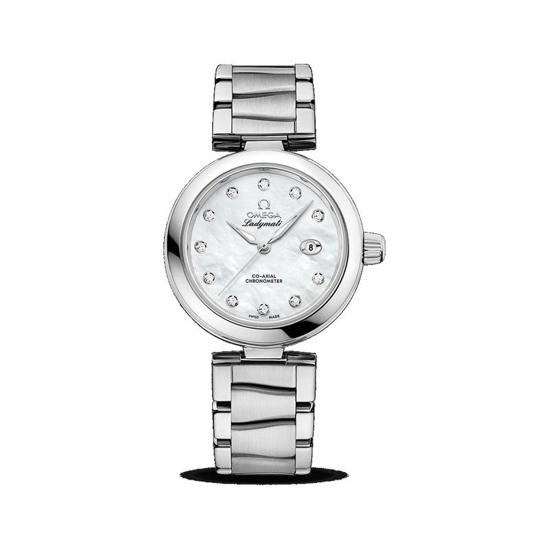 gioielli-e-orologiDonna Collezione Omega Ladymatic Omega Co-Axial 34 mm
