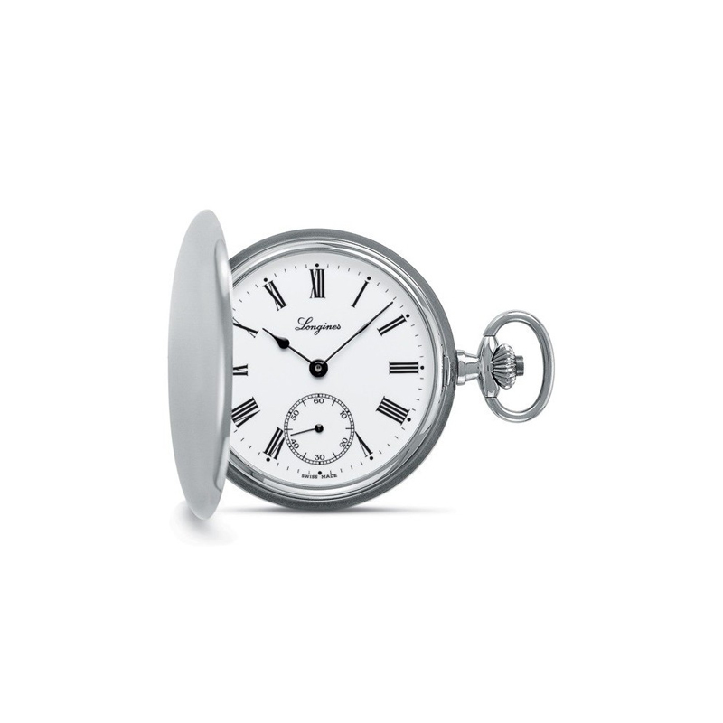 gioielli-e-orologiUomoOrologio uomo Longines Heritage Tasca Acciaio 48 mm