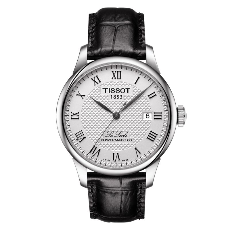 gioielli-e-orologiUomoOrologio Tissot Le Locle Automatic Acciaio Pelle